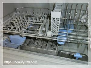 食洗機の水垢汚れ